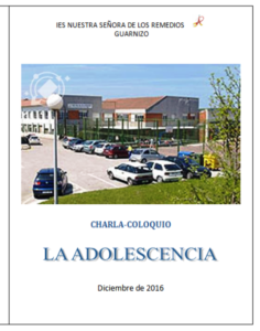 LA ADOLESCENCIA- CHARLA