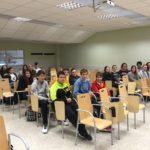 alumnos en entrega premios 4ºESO y y 1ºBAC