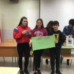 ganadores premio categoría 1º, 2º y 3ºESO